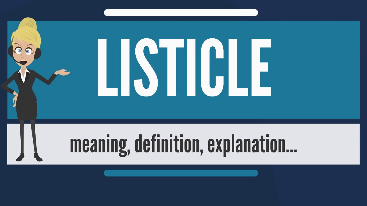 Importance of Listicle videos