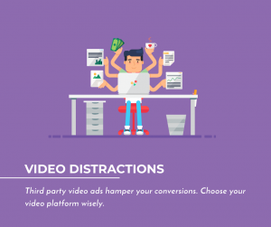 Third Party Ads and Other Video Distractions