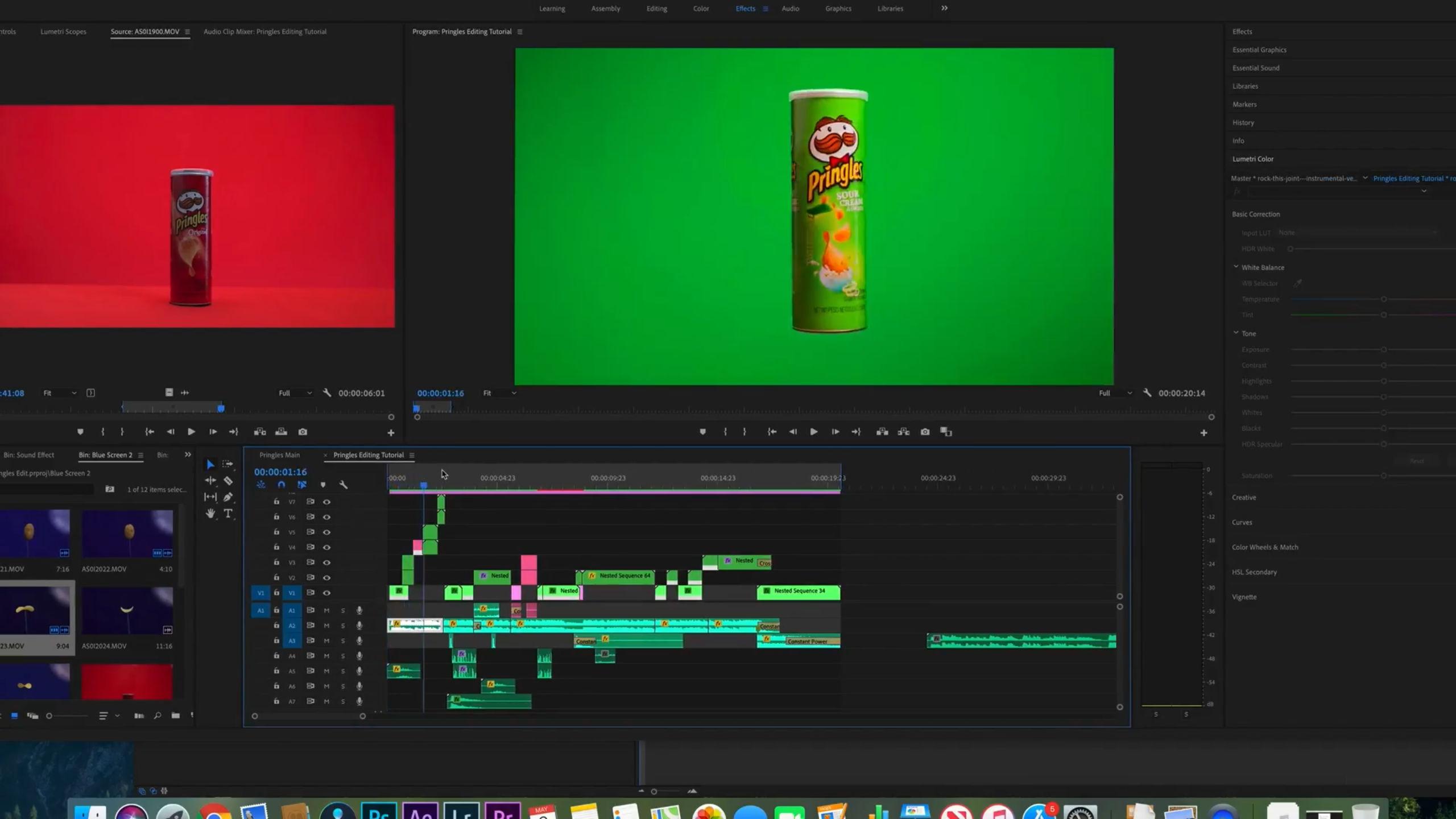 [VIDEO] How I Edited My Pringles Video